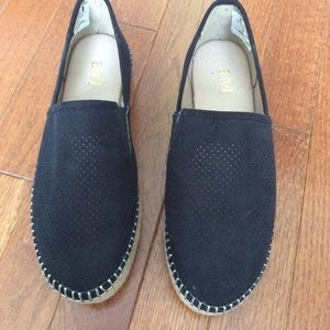 Slip on shoes . Worn one time inside !!!!